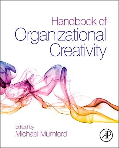 9780123747143: Handbook of Organizational Creativity