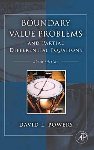 9780123747198: Boundary Value Problems: and Partial Differential Equations