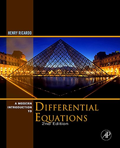 9780123747464: A Modern Introduction to Differential Equations