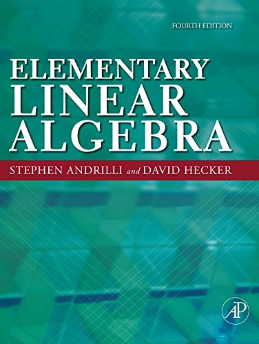 9780123747518: Elementary Linear Algebra, Fourth Edition
