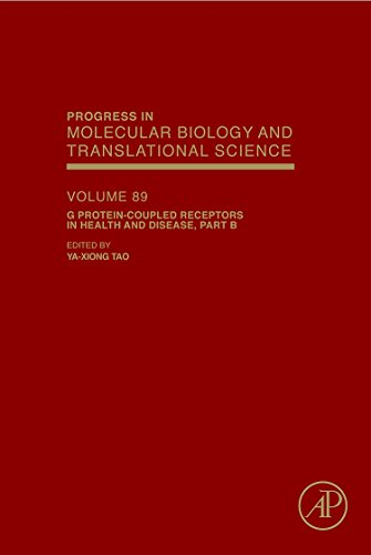 9780123747563: G Protein-Coupled Receptors in Health and Disease, Part B, Volume 89 (Progress in Molecular Biology and Translational Science)