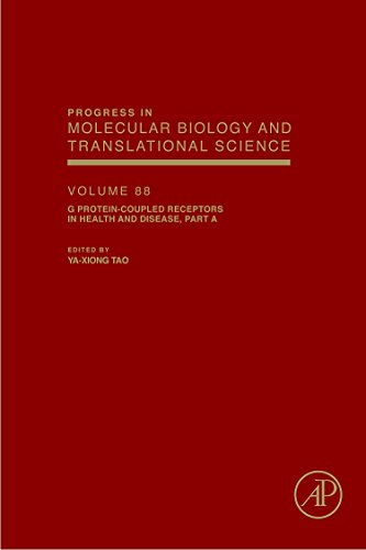 9780123747570: G Protein-Coupled Receptors in Health and Disease, Part A, Volume 88 (Progress in Molecular Biology and Translational Science)