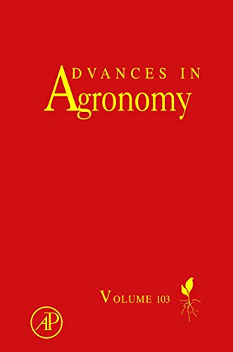 Advances In Agronomy, Volume 103