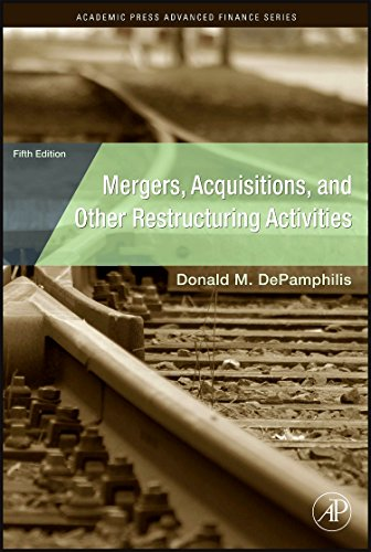 9780123748782: Mergers, Acquisitions, and Other Restructuring Activities (Academic Press Advanced Finance)