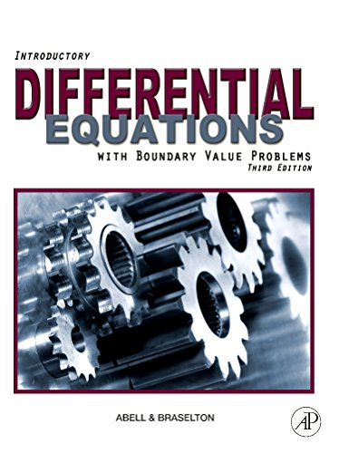 9780123749352: Introductory Differential Equations, Third Edition: with Boundary Value Problems