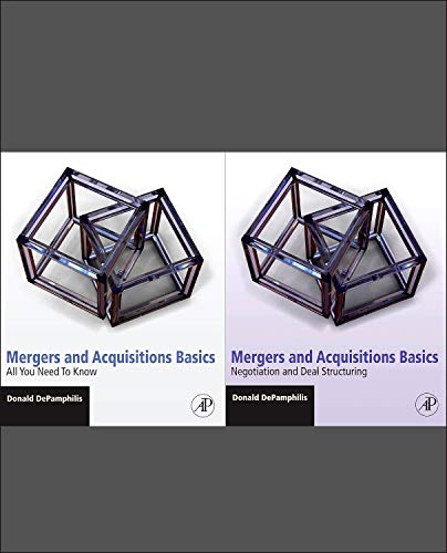 9780123749666: Mergers and Acquisitions Basics: All You Need To Know