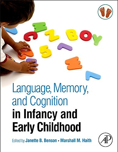 9780123750693: Language, Memory, and Cognition in Infancy and Early Childhood