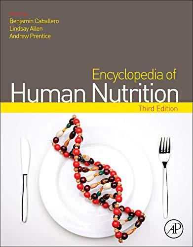Encyclopedia Of Human Nutrition, 3Rd Edition ,: Allen & Prentice