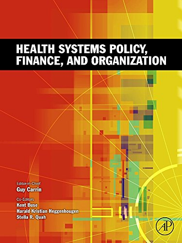 9780123750877: Health Systems Policy, Finance, and Organization