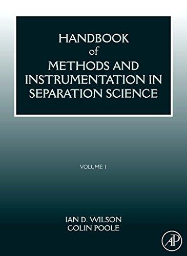 9780123750952: Handbook of Methods and Instrumentation in Separation Science: Volume 1