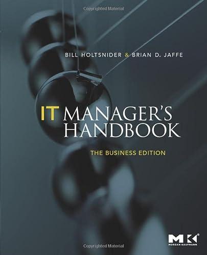 9780123751102: IT Manager's Handbook