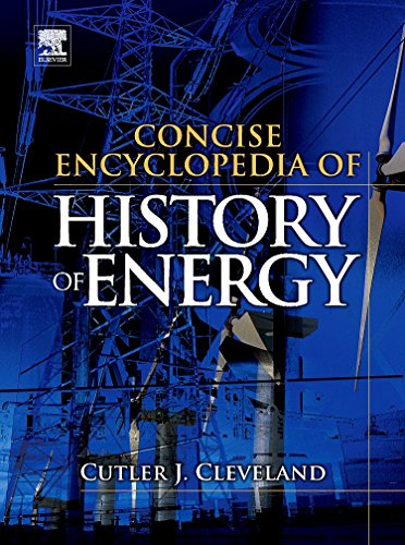 9780123751171: Concise Encyclopedia of the History of Energy