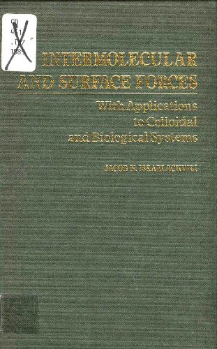 9780123751805: Intermolecular and Surface Forces