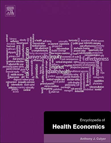 9780123756787: Encyclopedia of Health Economics 3 Volume Set