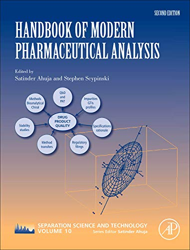 9780123756800: Handbook of Modern Pharmaceutical Analysis, Volume 10, Second Edition (Separation Science and Technology)