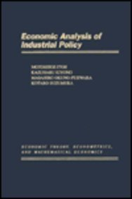 9780123757357: Economic Analysis of Industrial Policy (Economic Theory, Econometrics, and Mathematical Economics)