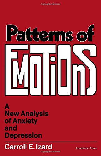 9780123777508: Patterns of Emotions: New Analysis of Anxiety and Depression