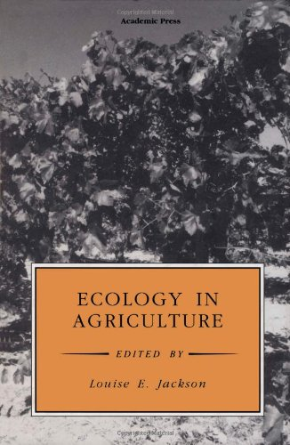 9780123782601: Ecology in Agriculture (Physiological Ecology)