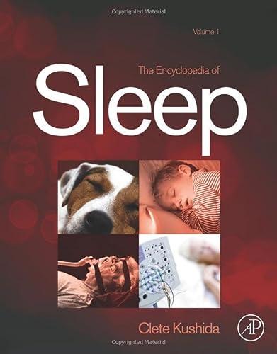 9780123786104: Encyclopedia of Sleep