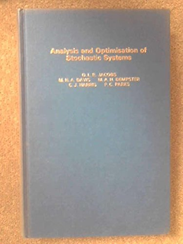 9780123786807: Analysis and Optimization of Stochastic Systems