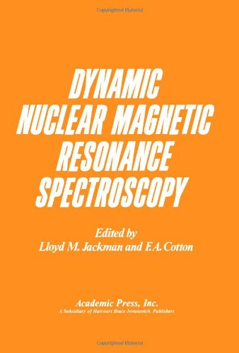 9780123788504: Dynamic Nuclear Magnetic Resonance Spectroscopy