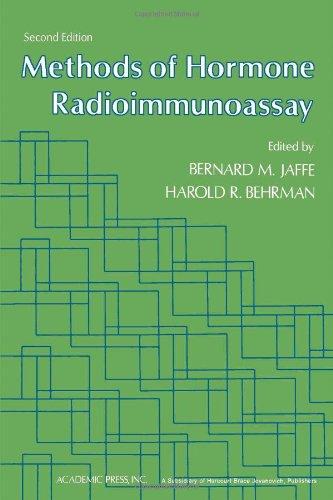 Methods of Hormone Radioimmunoassay.: Jaffe, B. and