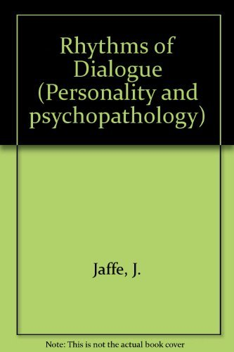 9780123798503: Rhythms of Dialogue (Personality and psychopathology)