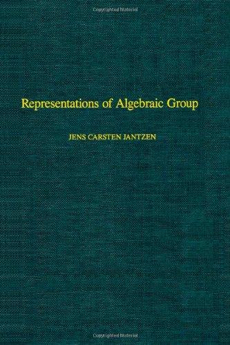 9780123802453: Representations of Algebraic Groups