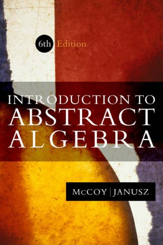 9780123803924: Introduction to Abstract Algebra