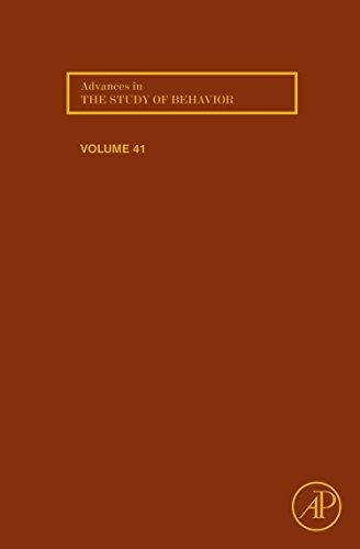 9780123808929: Advances in the Study of Behavior, Volume 41