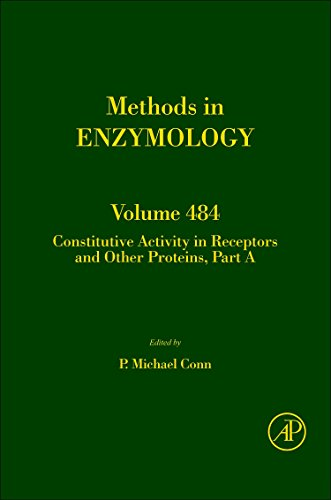 9780123812988: Constitutive Activity in Receptors and Other Proteins, Part A, Volume 484 (Methods in Enzymology)