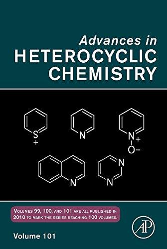 9780123813060: Advances in Hetrocyclic Chemistry: 101 (Advances in Heterocyclic Chemistry)