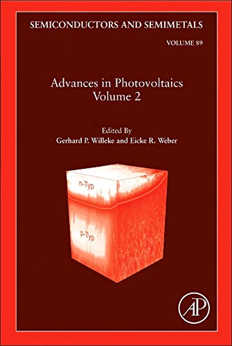 9780123813435: Advances in Photovoltaics: Part 2, Volume 89 (Semiconductors and Semimetals)