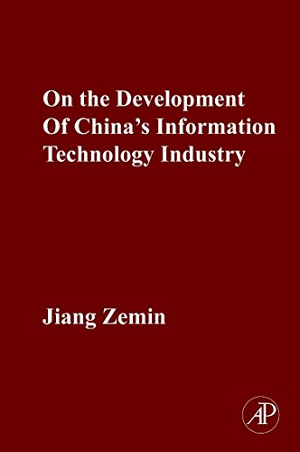 9780123813695: On the Development of China's Information Technology Industry