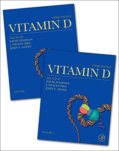 Vitamin D, by Feldman, 3rd Edition, 2 VOLUME SET: Feldman, David / Pike, J. Wesley / Adams, John S.