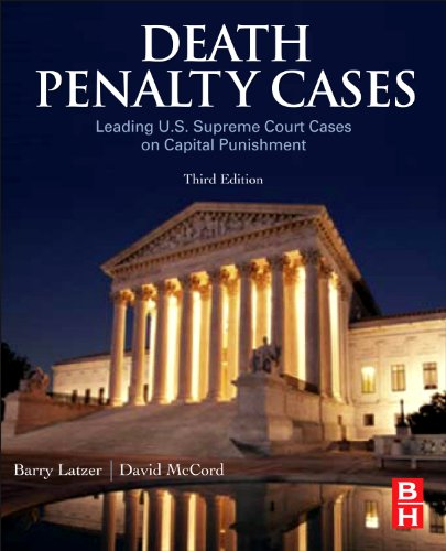 9780123820242: Death Penalty Cases, Third Edition: Leading U.S. Supreme Court Cases on Capital Punishment