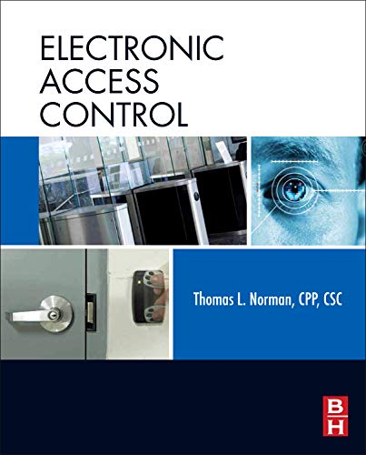 9780123820280: Electronic Access Control