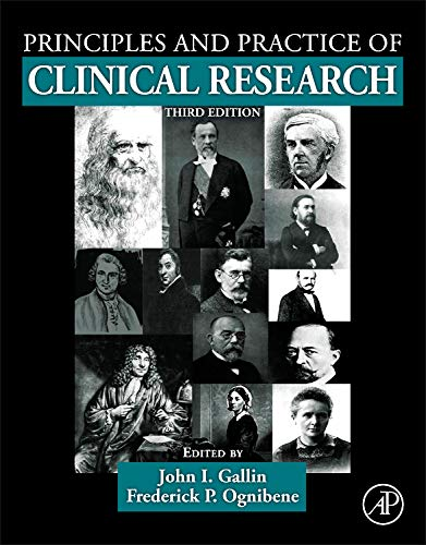9780123821676: Principles and Practice of Clinical Research