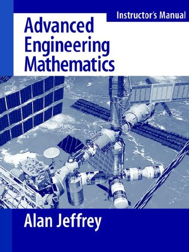 9780123825933: Advanced Engineering Mathematics - Solutions Manual (02) by Jeffrey, Alan [Paperback (2001)]