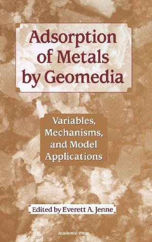 adsorption of metals by geomedia ii barnett mark kent douglas