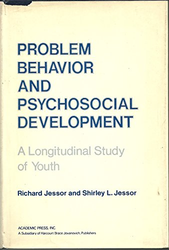 9780123847508: Problem Behaviour and Psychosocial Development: A Longitudinal Study of Youth