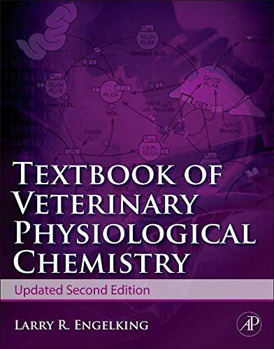 9780123848529: Textbook of Veterinary Physiology of Chemistry, Updated 2/e