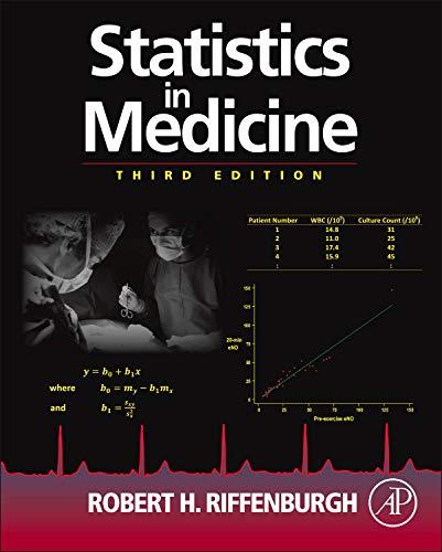 9780123848642: Statistics in Medicine, Third Edition