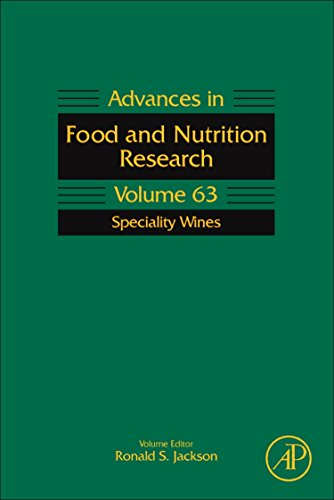 9780123849274: Speciality Wines, Volume 63 (Advances in Food and Nutrition Research)