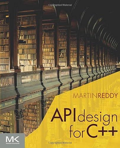 9780123850034: API Design for C++