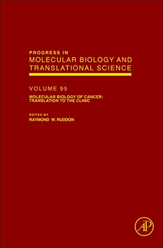 9780123850713: Molecular Biology of Cancer: Translation to the Clinic, Volume 95 (Progress in Molecular Biology and Translation Science)