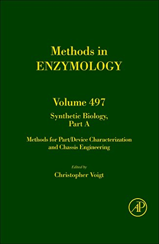 9780123850751: Synthetic Biology, Part A, Volume 497: Methods for Part/Device Characterization and Chassis Engineering (Methods in Enzymology)