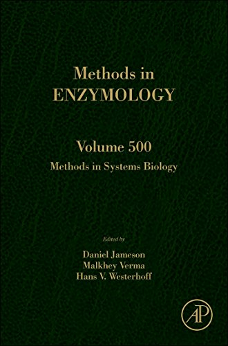 9780123851185: Methods in Systems Biology: 500 (Methods in Enzymology)