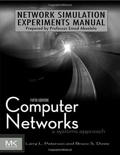 9780123852106: Network Simulation Experiments Manual