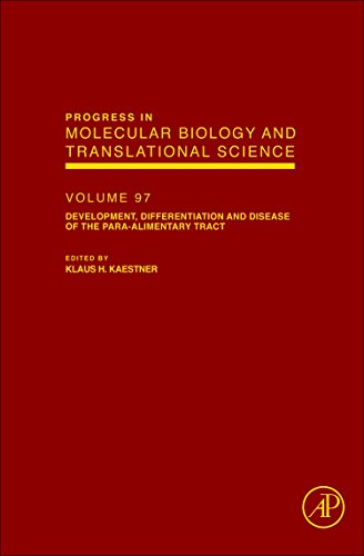 9780123852335: Development, Differentiation and Disease of the Para-Alimentary Tract, Volume 97 (Progress in Molecular Biology and Translational Science)